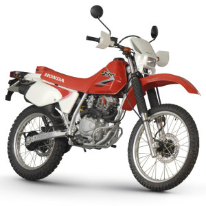 Manual shift Honda XR 200cc