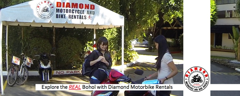 Bohol Motorcycle Rentals   Diamond Motorcycle Rentals Bohol Philippines