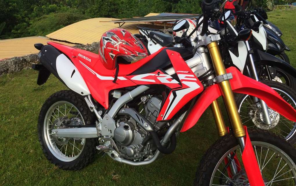 Honda CRF 250cc fuel injected 1,500php per day