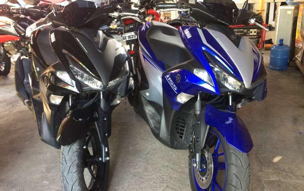 Yamaha Aerox 155cc Automatic 900 php per day