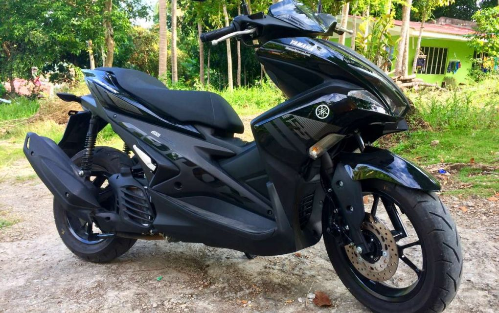 Yamaha Aerox 155cc  Total Automatic 900 PHP per day
