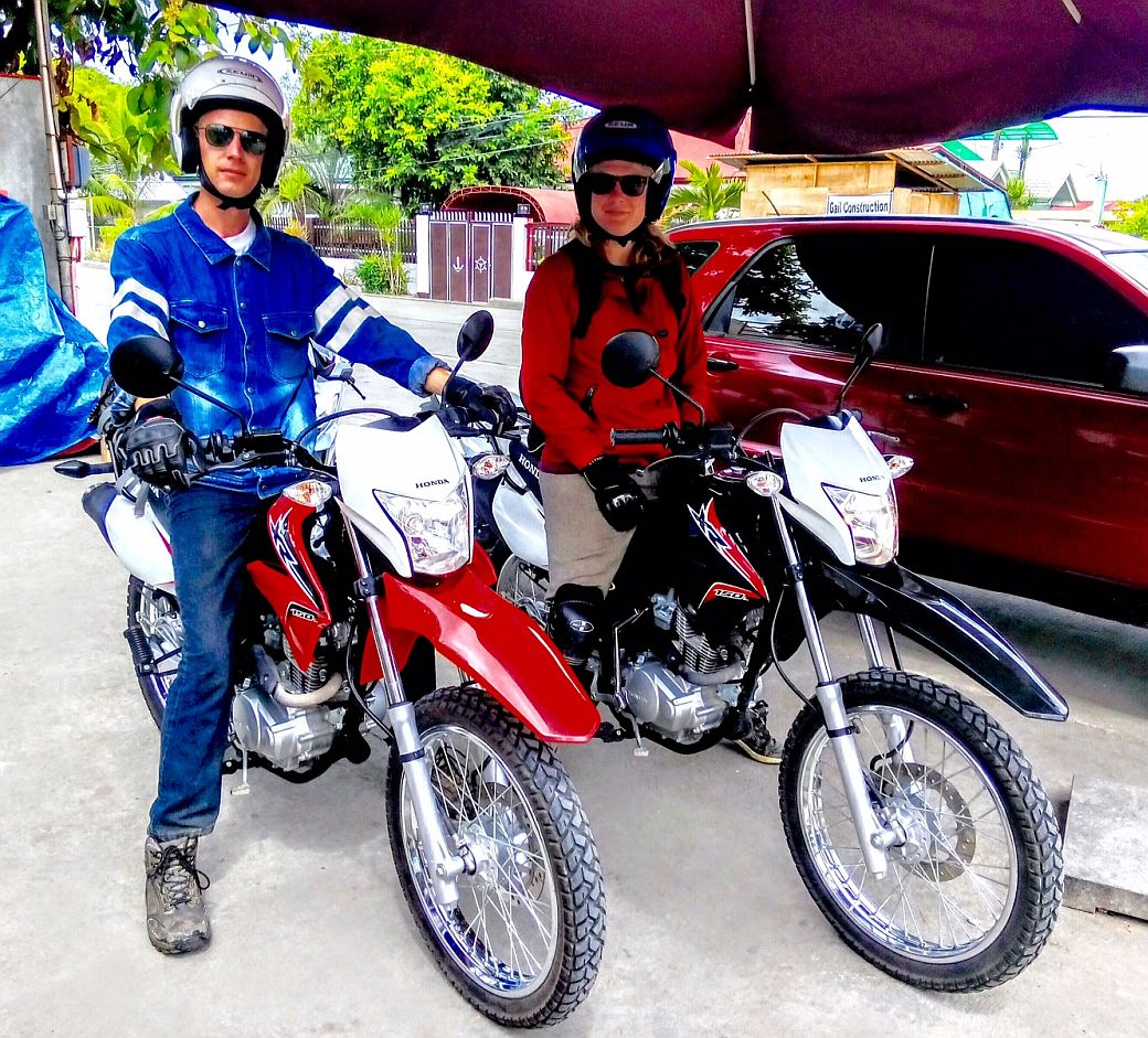 Honda motorcycles philippines website - Mikes Island Motorcycle Rentals Happy Renters