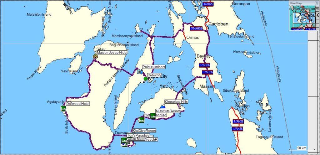 8 Island Visayan Motorcycle Tour with Emmanuel  Bohol Motorcycle