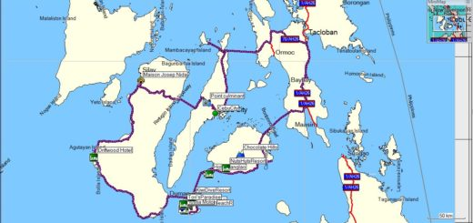 motorcycle tour of Visayas Philippines